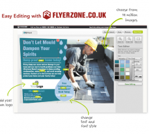 Plumbers: Personalise your Flyers and Leaflets in Minutes!